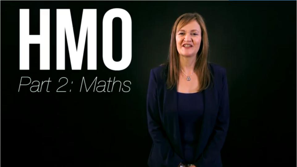 HMO Maths
